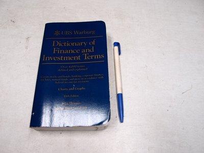 【考試院二手書】《Dictionary of Finance and Investment Terms》(B11M66)