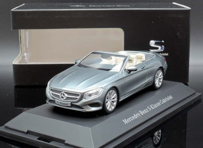 【MASH】[現貨特價]  原廠 Norev1/43 Mercedes S-Class Convertible 2015