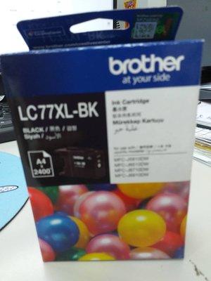 呈運Brother LC77XL/LC77XL 黑色原廠超大容量墨水匣 適用:MFC-J5910/J6710/J6910