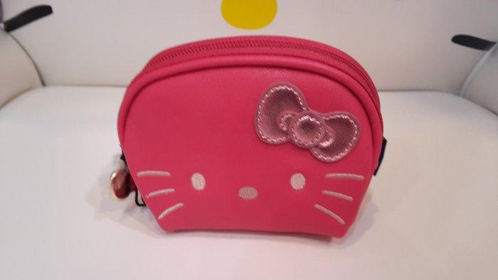 GIFT41 4165本通 三重店 Hello Kitty 聯名款 淘氣凱蒂 零錢包#粉 HLKT0C010PK