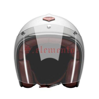 【預購優惠】Ateliers Ruby 安全帽 Pavillon 風鏡 透明 3/4罩 Visor Clear