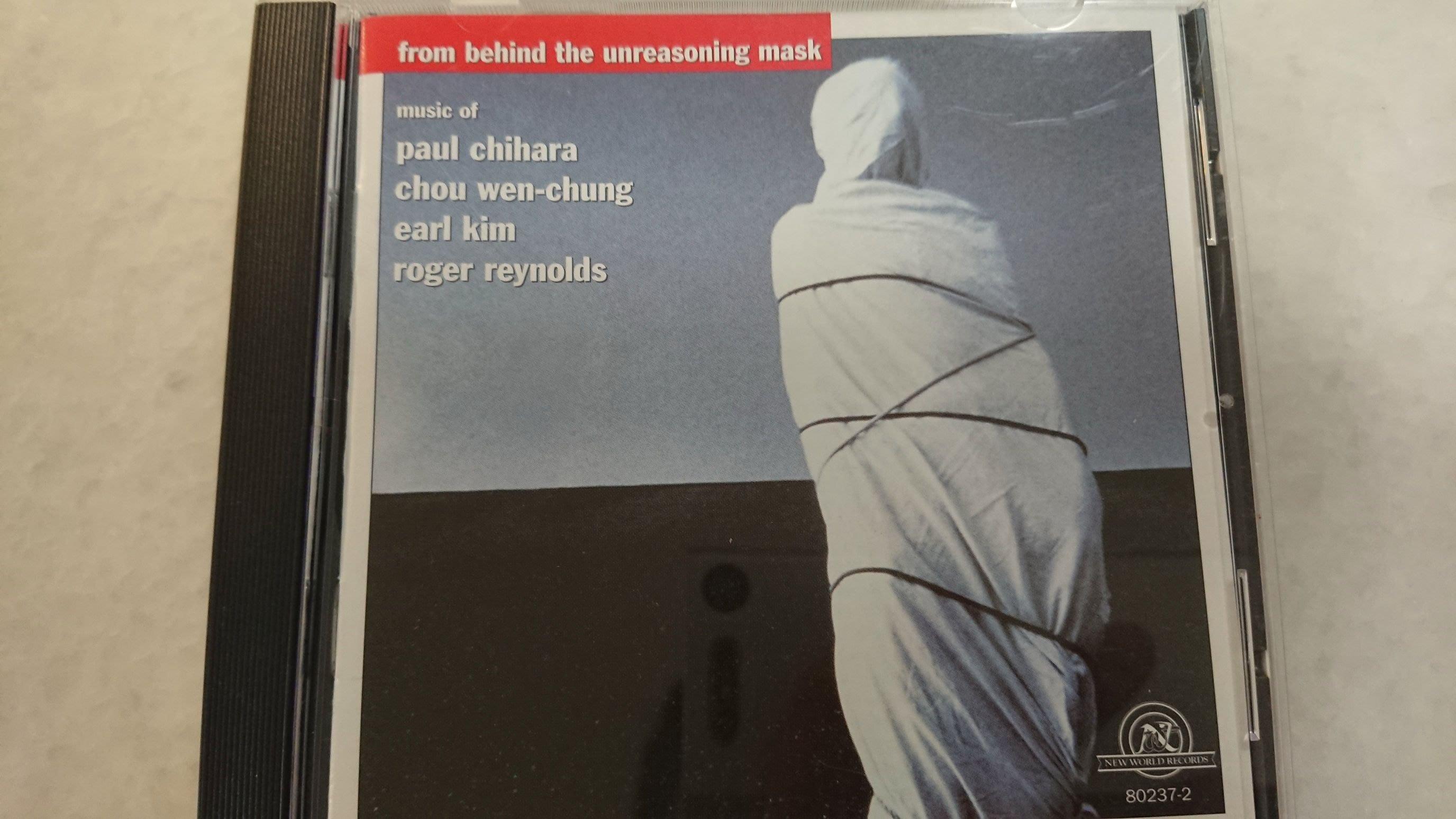 from behind the unreasoning mask music of paul chihara roger reynolds經典罕見發燒錄音爵士盤