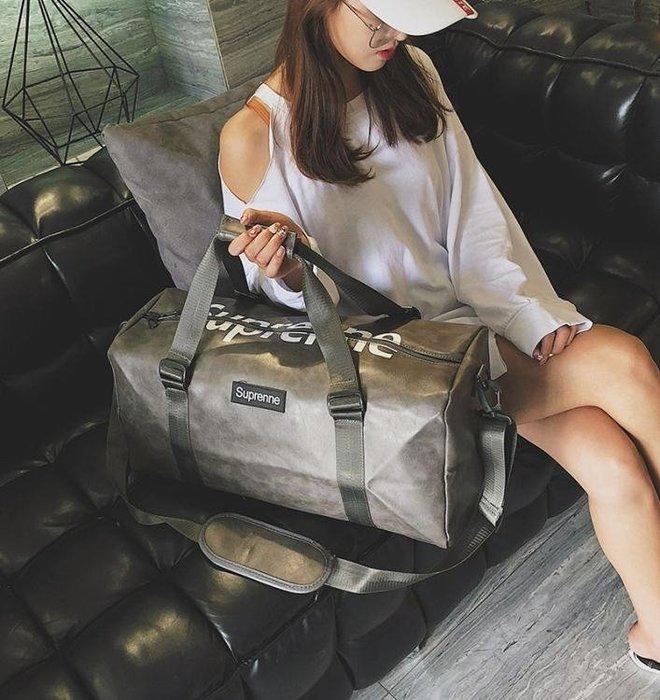 行李包女手提男大容量行李袋輕便韓版短途出差旅游網紅健身旅行包