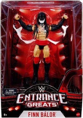 [美國瘋潮]正版WWE Finn Balor Entrance Greats Elite 經典出場曲造型精華版公仔人偶