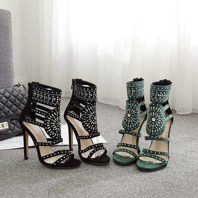 yoyo的賣場~2021女鞋 ladies fashion party sandals women high heels shoes