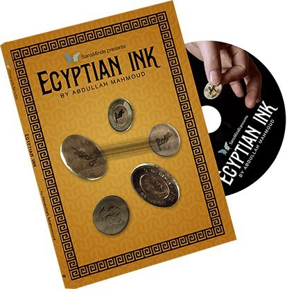 【天天魔法】【S702】正宗原廠~埃及墨記(Egyptian Ink by Abdullah Mahmoud)