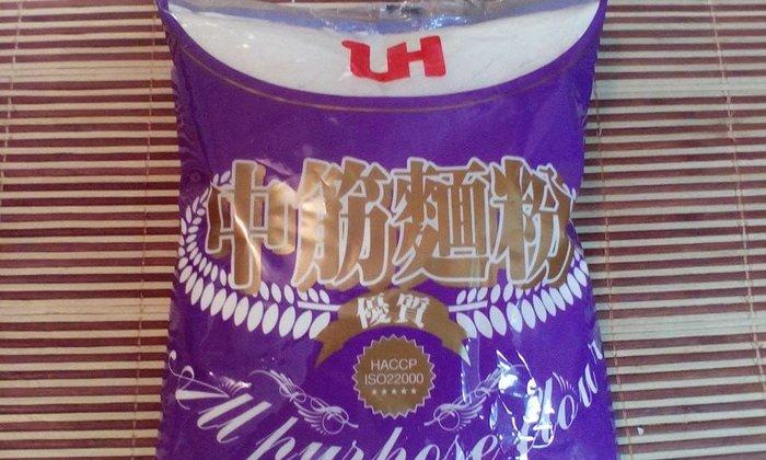 【原廠包裝非分裝】聯華 LH 優質中筋麵粉 每包 1000g (非低筋 高筋 鬆餅粉 包子 饅頭 麵條 牛肉麵 辣椒)
