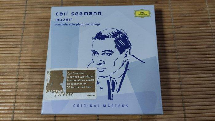 好音悅  Carl Seemann Mozart 莫札特 鋼琴獨奏作品 6CD DG 德EDC01版