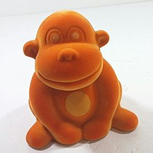Homart (HK) 猩猩陶瓷錢罌絲絨面 陳列品 Monkey Ceramic Ceramic Bank Velvet surface
