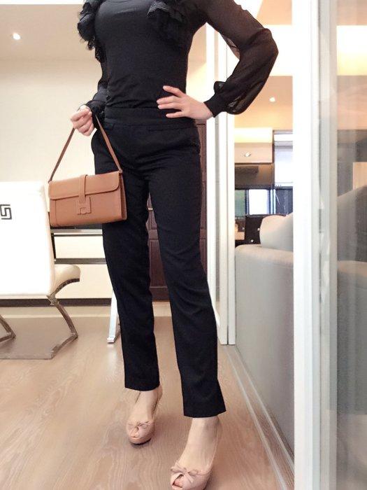 *Beauty*Armani Exchange 黑色西裝褲4號 全新附吊牌 原價4990元 JW加圖
