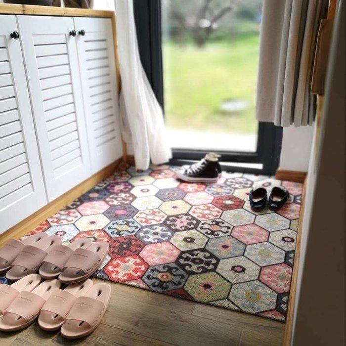 『哲原雜貨』入戶門地墊進門門墊門口腳墊定制地毯門廳墊子客廳塑膠絲圈腳踏墊/CK13996
