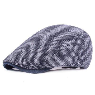 透氣緞紋棉質貝蕾帽.前進帽.小偷帽.打鳥帽.鴨舌帽(W334)