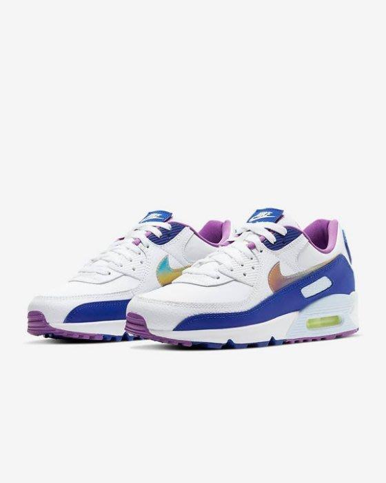 限時特價南◇2020 6月 Nike Air Max 90 SE CT3623-100 男鞋 復活節 白色藍色紫色 漸層
