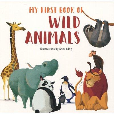 【Ace書店】My First Book Of Wild Animals認識野生動物英語硬頁書 / 台灣公司貨
