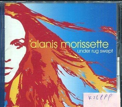 *真音樂* ALANIS MORISSETTE / UNDER RUG SWEPT 日版 二手 K26999
