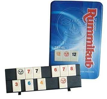 拉密鐵盒旅行版 Rummikub Tin Mini Travel 拉密鐵盒 全新