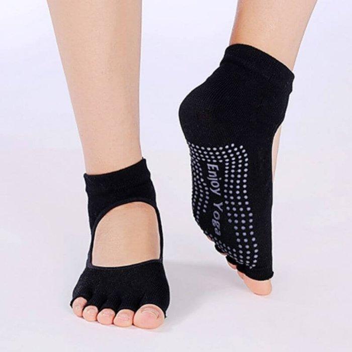 【優作坊】WA30_防滑瑜珈襪,止滑瑜伽襪,韻律襪,舞蹈襪,五趾運動襪