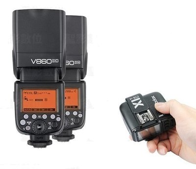 Godox 神牛 ( V860 II 閃光燈 + X1s 發射器 )  For  Sony  X1T-S 公司貨