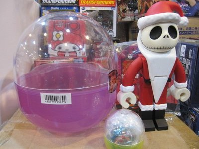 聖誕夜驚魂 迪士尼 KUBRICK 400% 大扭蛋 巨蛋 聖誕 傑克 全身可動 高約24cm