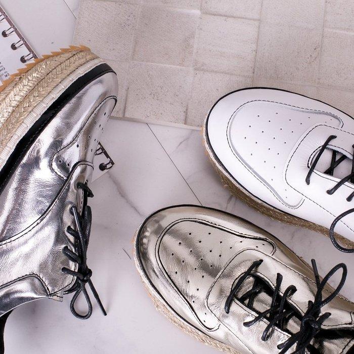 創意夏季女鞋 歐洲站春秋季新款松糕厚底單鞋原宿運動百搭休閑炫彩老爹鞋女