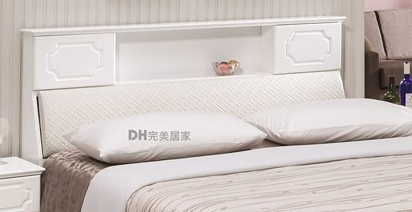【DH】貨號HA-A01《黛尼》5尺書架型皮床頭箱˙另有6尺˙質感一流˙流暢曲線˙主要地區免運