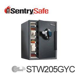 【皓翔居家安全館】Sentry Safe 電子密碼鎖防火防水金庫(大) STW205GYC