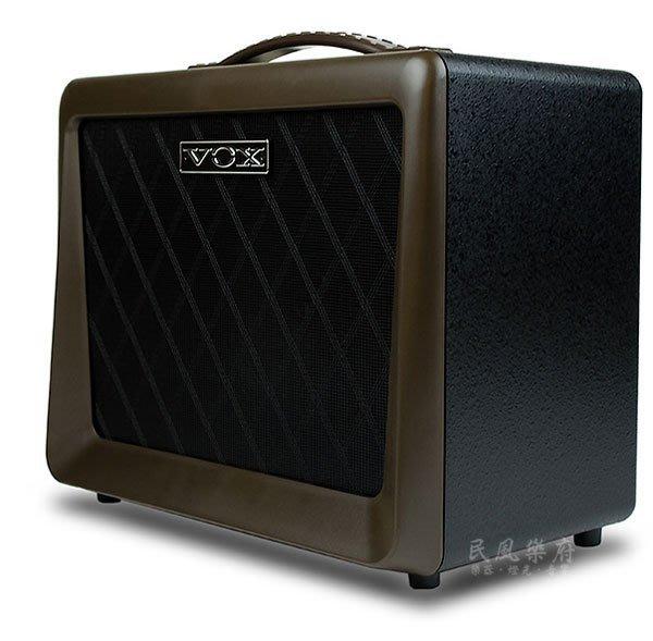 《民風樂府》VOX  VX50-AG 真空管木吉他音箱 小體積 50W大出力 音色飽暖絕佳 加贈原廠導線