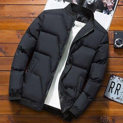 2018新款冬季男士外套韓版青年男裝加厚外套棉服 預購款