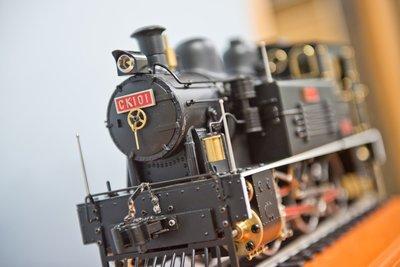 【台灣尋根】CK101全金屬蒸汽火車  | G規 | 短版