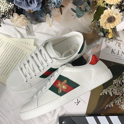GUCCI 蜜蜂小白鞋