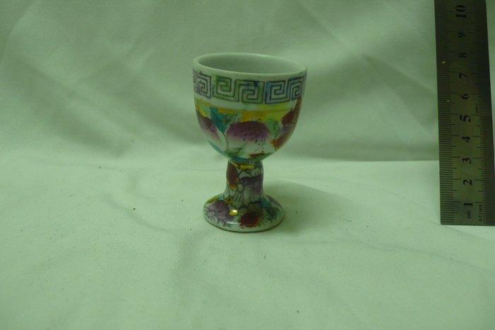 紫色小館71--------手繪高腳杯