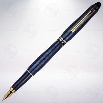 日本 Platinum 白金 AFFECTION 鍾愛系列鋼筆: 花紋藍