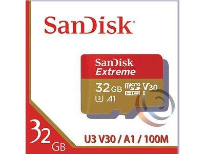 「Sorry」Sandisk Extreme MicroSDHC TF 32GB A1 100M 記憶卡 SDSQXA