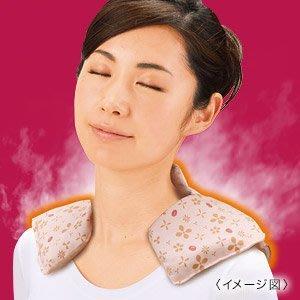 天然蒸氣~紅豆的神奇力量舒緩肩頸僵硬~蒸氣肩頸熱敷袋
