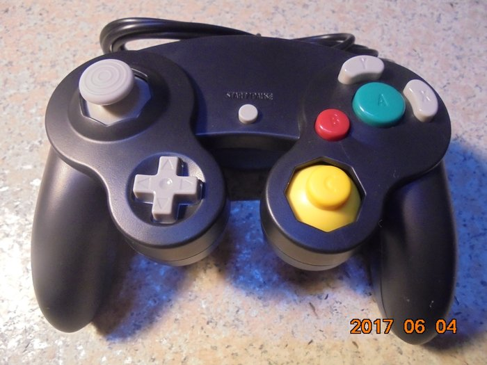 NGC/GC/GameCube 副廠全新手把/有線手把/搖桿 WII可用 藍/黑/橘 直購價300元 桃園《蝦米小鋪》