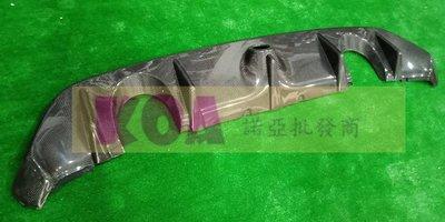 諾亞 FORD FOCUS MK3.5 NEW STYLE RS卡夢後飾板 空力套件 另有前保桿 後保桿
