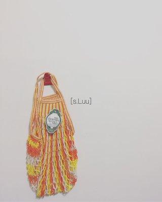 「s.Luu」現貨:法國品牌Filt漁網袋Summer限定M號短把 法國製造,日本愛用