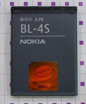 雅龍通信  NOKIA原廠電池(BL-4S) 2680S  3710f 3600S  7610S 7100S 6208c  x3-02 賣家保固90天 台南市