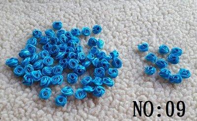 ☆創意小物店☆1.5cm緞帶玫瑰花朵N...