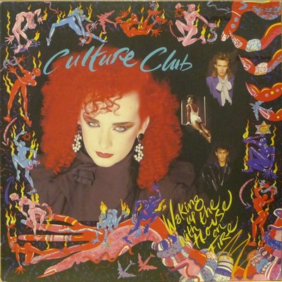 §小宋唱片§ 日版/Culture Club - Waking Up With The House On Fire