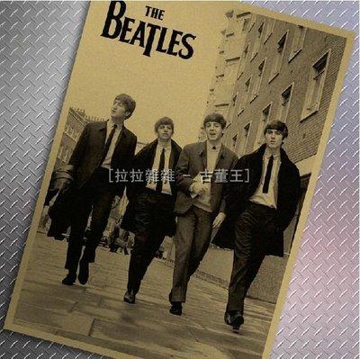 【貼貼屋】The Beatles披頭四 經典 懷舊復古 牛皮紙海報 壁貼 店面裝飾 經典電影海報 211