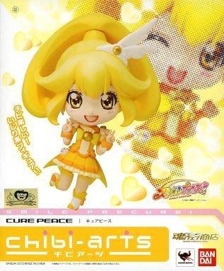 日本正版 萬代 chibi-arts 黏土人 Smile 光之美少女 和平天使 Q版 可動 模型 公仔 日本代購