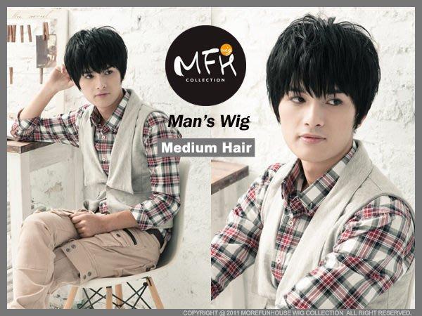 MFH韓國男生假髮 SJ 東海空氣感層次髮【M010001】酷感黑/假髮/韓國男生髮型/流行款/男髮型