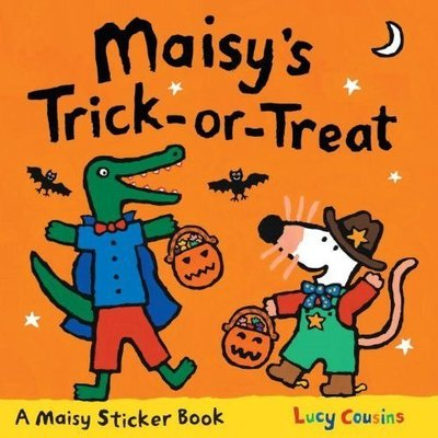 *小P書樂園* Maisy's Trick-or-Treat Sticker Book