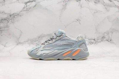 "Adidas Yeezy Boost 700V2 ""Inertia""灰橙 玉兔灰 休閒運動 慢跑鞋 FW2549 男女鞋"