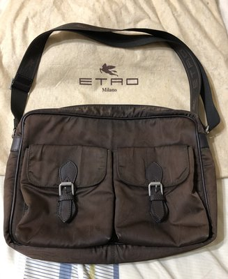 ETRO Milan 義大利時尚品牌 ETRO 斜背包/側背包/書包