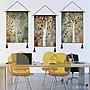 百樂美商城 歐美復古布藝掛畫客廳墻面裝飾掛...