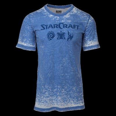 【丹】暴雪商城_StarCraft Factions Shirt 星海爭霸 T恤