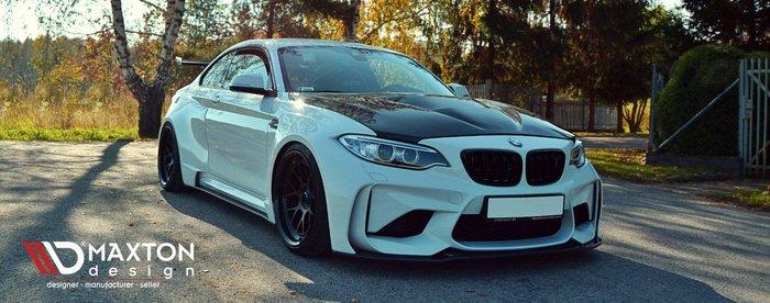 波蘭 Maxton Design 下擾流 側擾流 後擾流 定風翼 尾翼 下包 大包 分流器 BMW 全車系 專車 專用