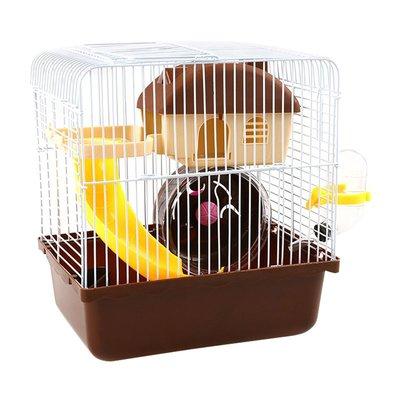 倉鼠籠 寵物籠 倉鼠窩 兔子籠小民宿倉鼠籠子用品金絲熊窩松鼠基礎籠小房子